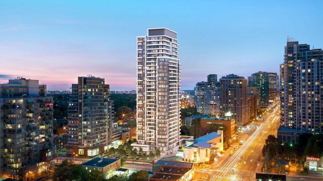The Diamond Condominiums on Yonge, designed by Scott Shields Architects for Diamante Development