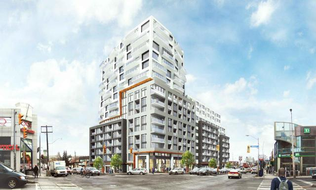859 Eglinton West, Quadrangle Architects, Upper Village Investments, Bateg Investments