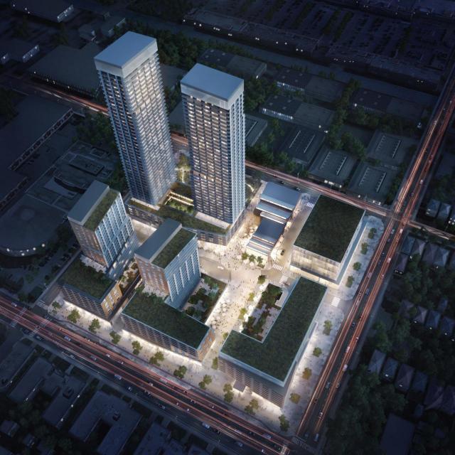815 Eglinton East, Toronto, designed by Quadrangle and Turner Fleischer for RioCan