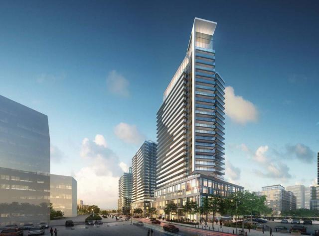 Updated southwest view, 1380 Midland Avenue, Arsandco, Quadrangle, Toronto