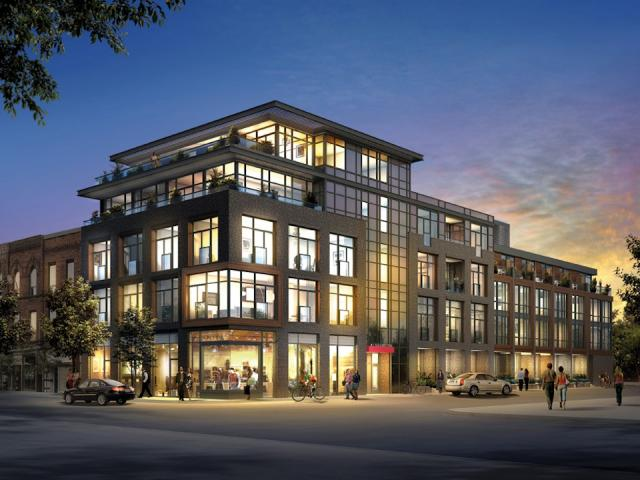 Motif Lofts + Townhomes, image courtesy of Reserve Properties