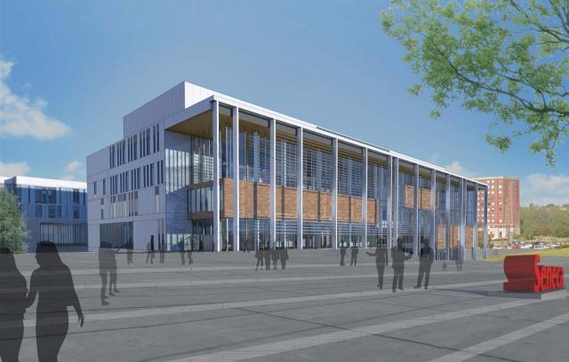Rendering of the CITE, image retrieved via submission to the City of Toronto