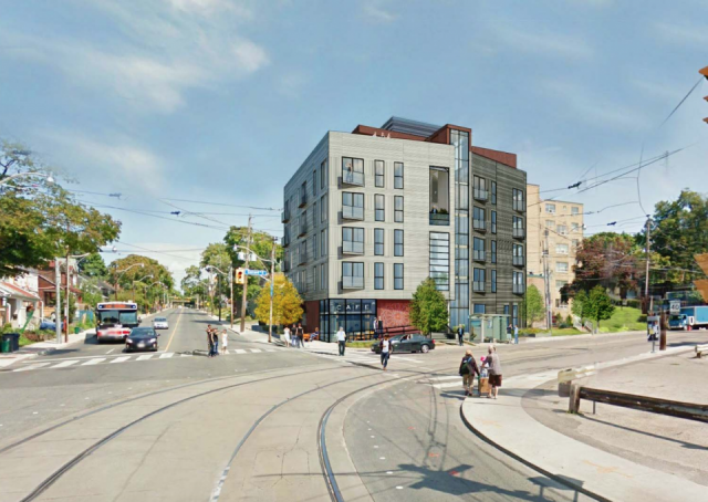 355 Coxwell, image via submission to the City of Toronto