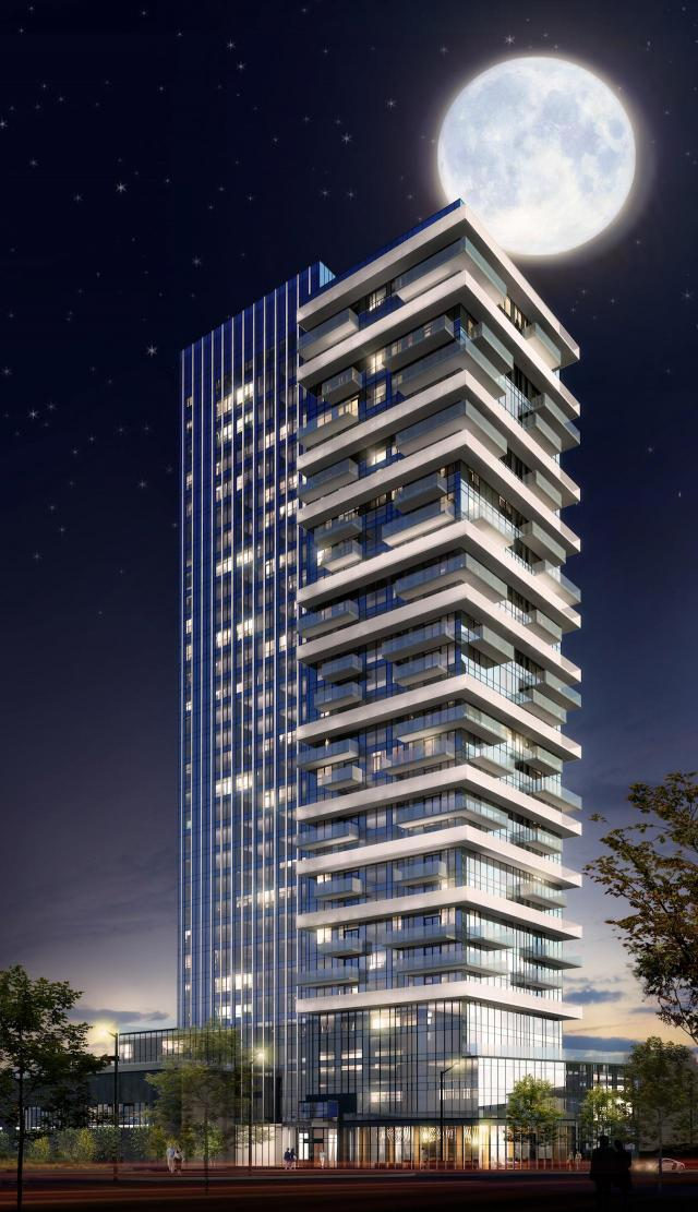 Selene at Metrogate, Tridel, Graziani + Corazza Architects, Toronto