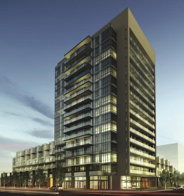 Ironstone Condominiums Burlington, image courtesy of Davies Smith Developments