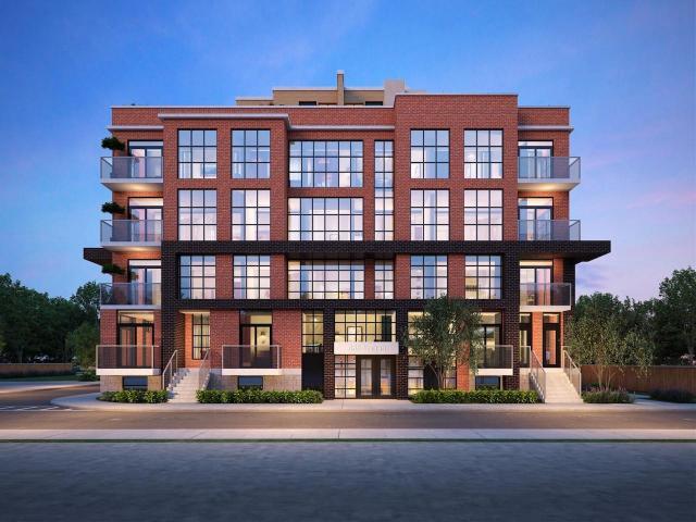 Elevate at Logan, 485 Logan Avenue, Kaleido Corporation, SRN Architects Inc., Toronto
