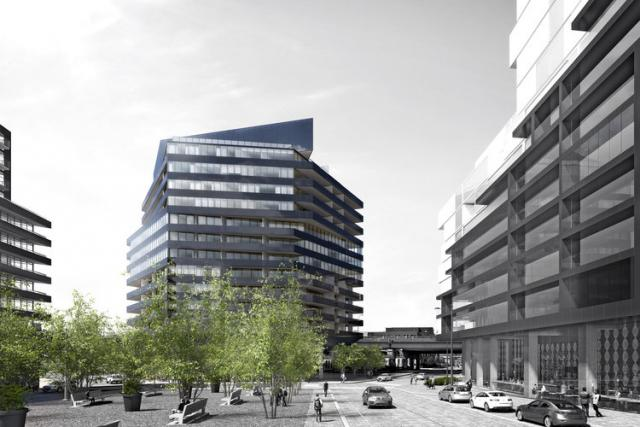 Harris Square, River City, Saucier + Perrotte Architects, Urban Capital, Toronto