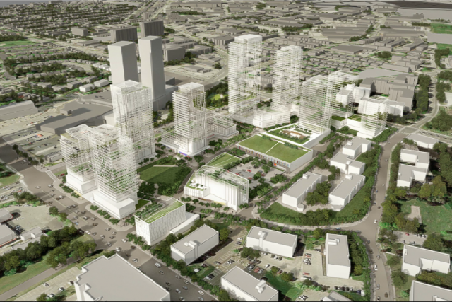 Looking southwest, image via submission to the City of Toronto