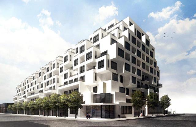 420 Dupont Street (275 Albany Ave.), Tridel, Teeple Architects, Toronto