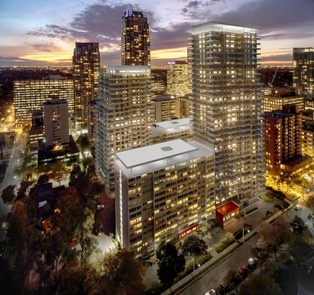 Plaza Midtown, Quadrangle Architects, Toronto