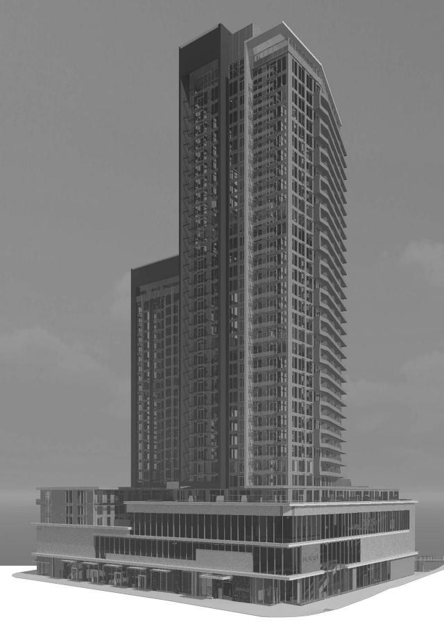 Southeast view, Novus, Bentall Kennedy, Hariri Pontarini, Toronto