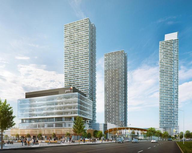 Transit City Condos, Vaughan, SmartREIT, CentreCourt, Diamond Schmitt