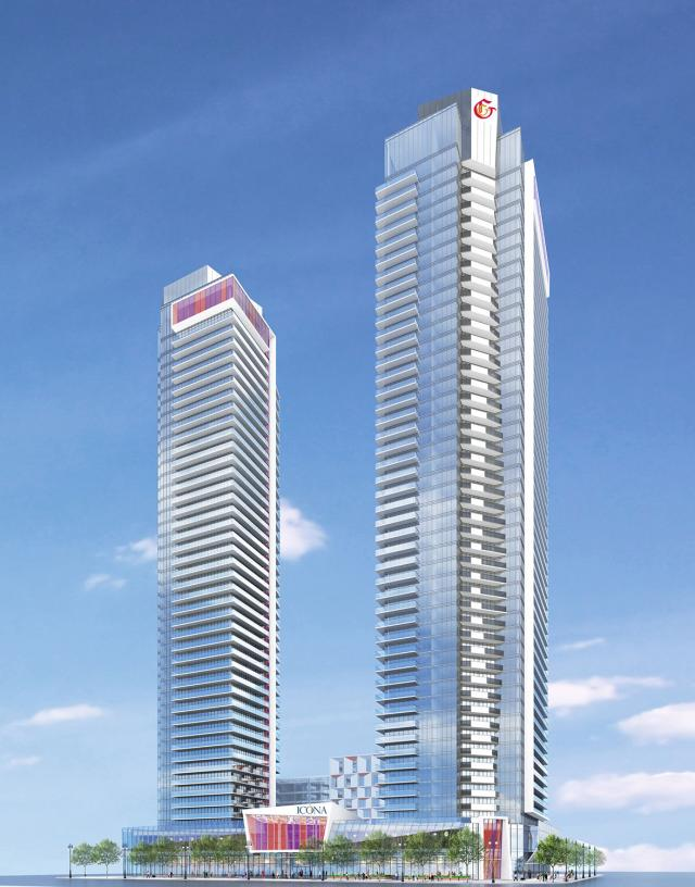 Icona Condos by Page + Steele / IBI Group for The Gupta Group