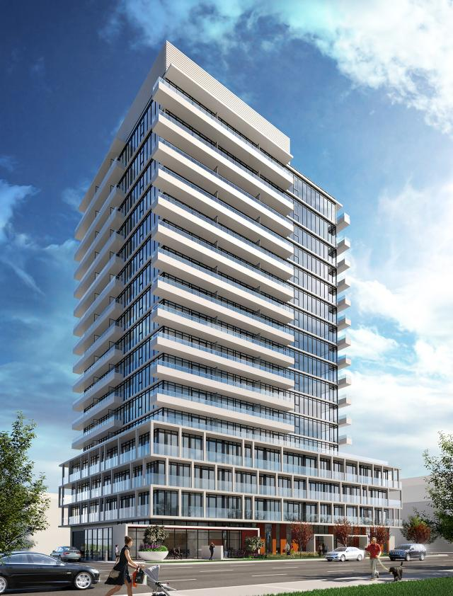 Vivo Condos, designed by CORE Architects for the FRAM Building Group