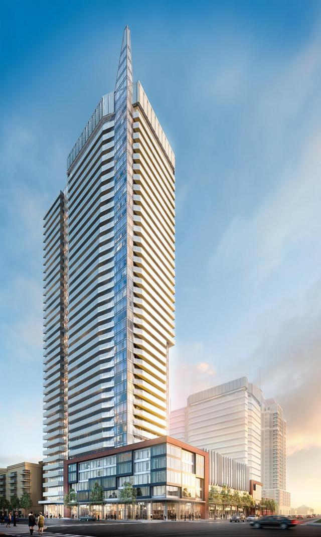 Wesley Tower at Daniels City Centre, Rafael + Bigauskas Architects, Mississauga