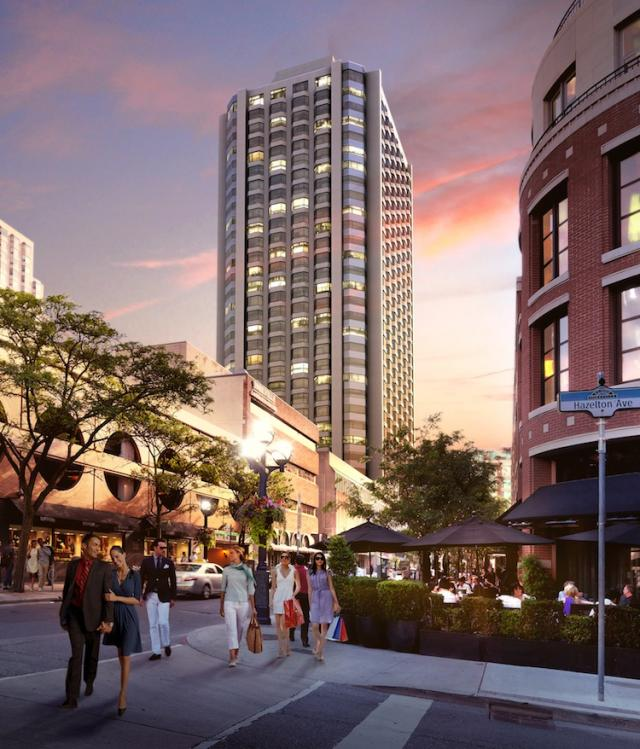 The New Residences of Yorkville Plaza, image courtesy of Camrost-Felcorp