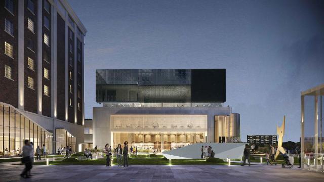 Draft Building at Lower JCT., Toronto, by Castlepoint Numa, Greybrook, SvN