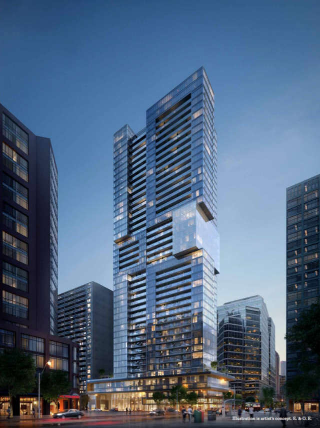 The Livmore, designed by IBI Group for GWL Realty Advisors
