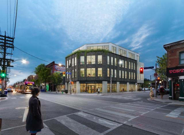 464 Queen Street West, Toronto, designed by SvN for The Pearl Group
