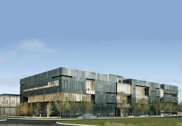 Instructional Centre at University of Toronto Mississauga, image courtesy of Shore Tilbe Perkins + Will