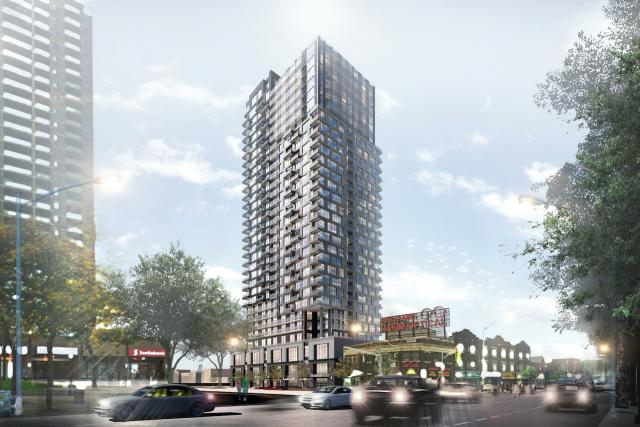 286 Main Street by Turner Fleischer Architects for Tribute Communities and Greybrook Realty Partners, Toronto