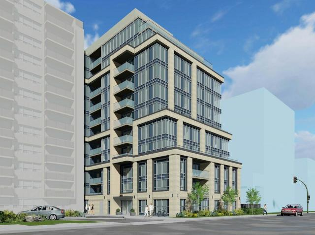 Rendering of 368 Eglinton Avenue East, image courtesy of Kirkor Architects + Planners