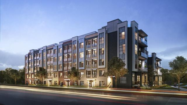Clanton Park Towns by SRN Architects for Crown Communities, Toronto