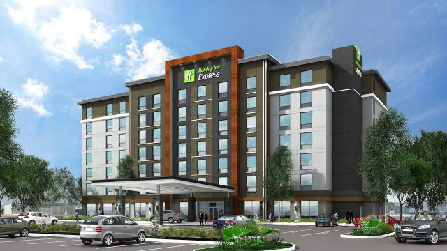 25 International Blvd, Holiday Inn, API/Saplys Architects, Toronto