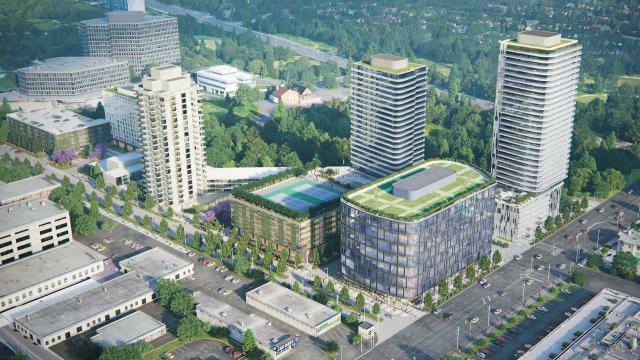 Westin Prince Redevelopment, Quadrangle Architects, Haven Developments, Toronto