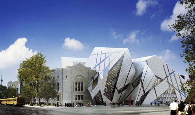 Royal Ontario Museum Michael Lee-Chin Crystal by Daniel Libeskind, image by Miller Hare