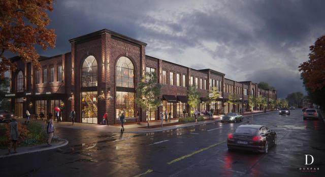The Shoppes on Scarlett, Dunpar, OP Design, Toronto