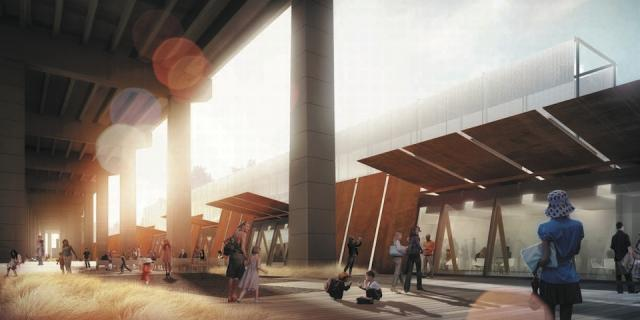 Fort York Visitor Centre by Patkau Architects and Kearns Mancini Architects