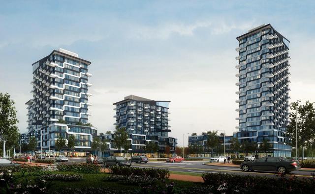 Oak & Co Condos, Oakville, Cortel Group, Zeidler Partnership Architects