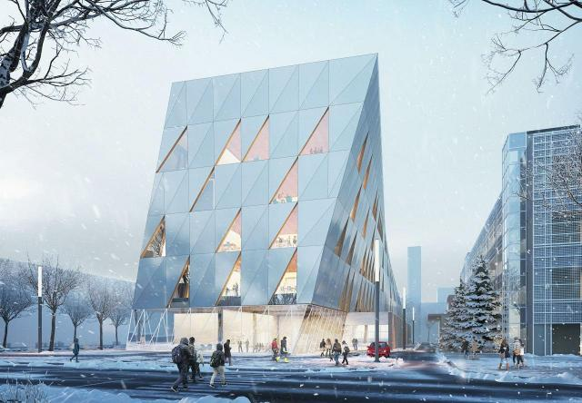 York University's School of Continuing Studies, designed by Perkins + Will