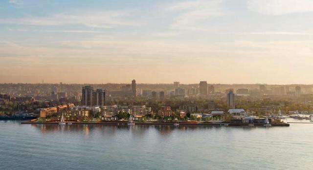 Hamilton: Pier 8 Redevelopment, Waterfront Shores winning entry