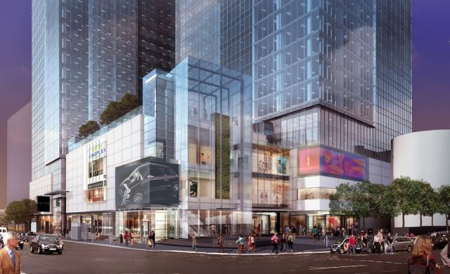 Yonge Eglinton Centre exterior rendering, image courtesy of RioCan