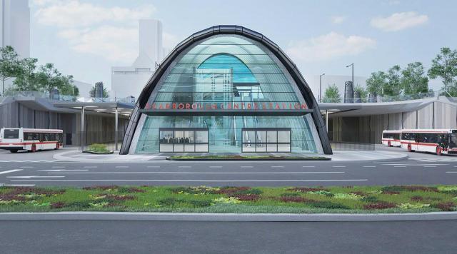 Scarborough Centre Station, TTC, AECOM, Toronto