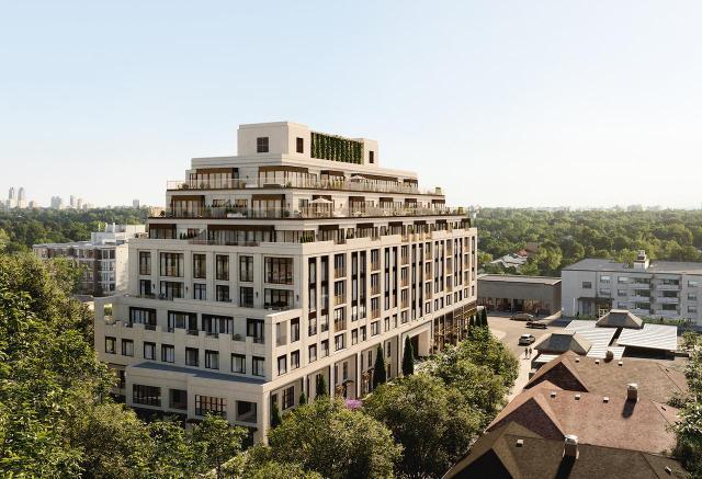 The Winslow, designed by Rafael + Bigauskas for Devron Developments, Toronto