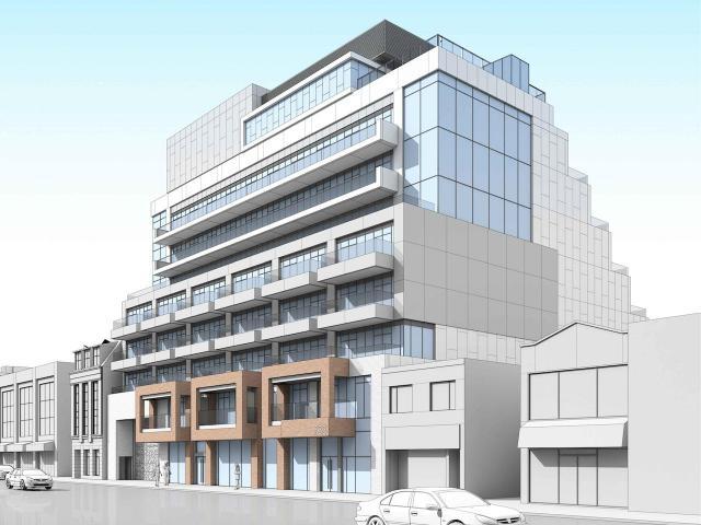 733 Mt Pleasant, Rockport Group, Wallman Architects, Toronto