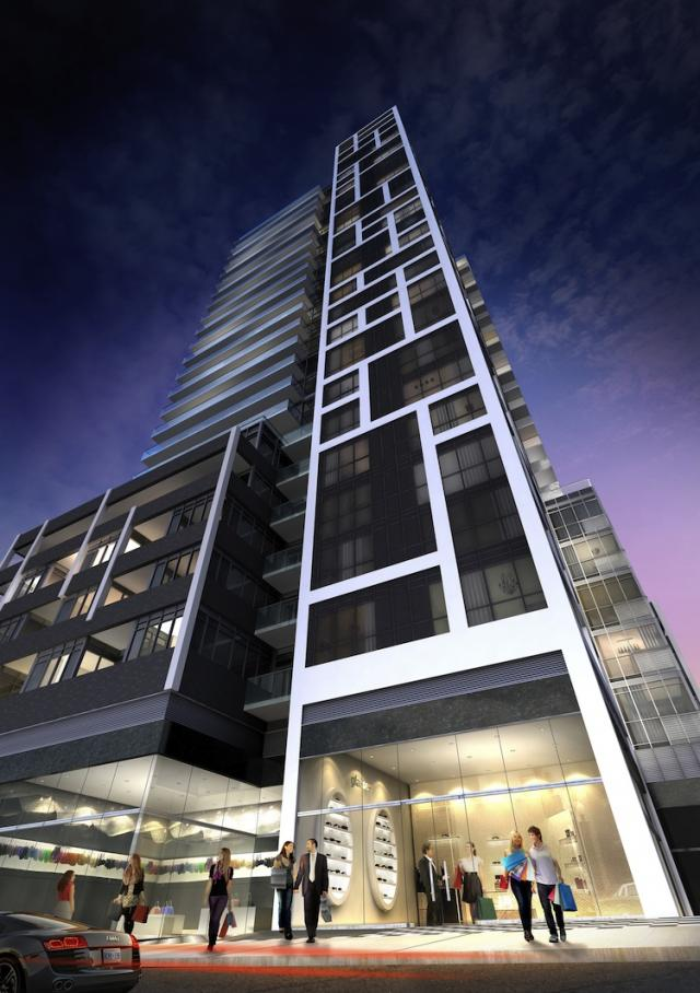 Rise Condominiums by Reserve Properties at Bathurst and St. Clair