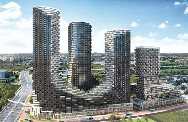 Panda Markham, designed by Hariri Pontarini for Lifetime Developments
