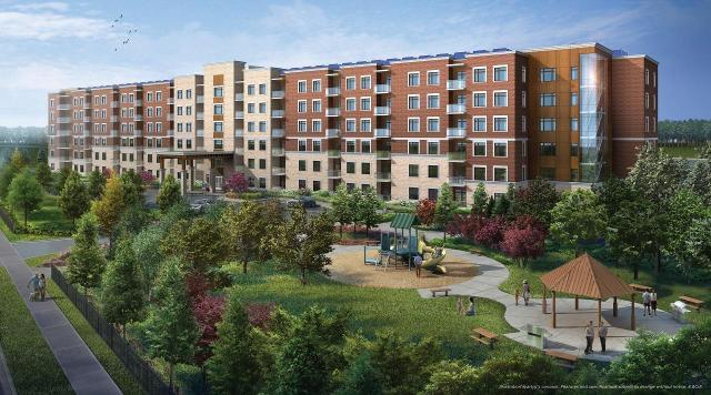 Milton's Bronte West Condominiums, designed by Keith Loffler McAlpine for Howland Green