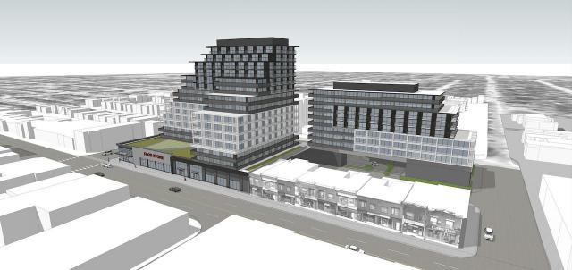 985 Woodbine, Toronto, Turner Fleischer Architects, Choice Properties REIT