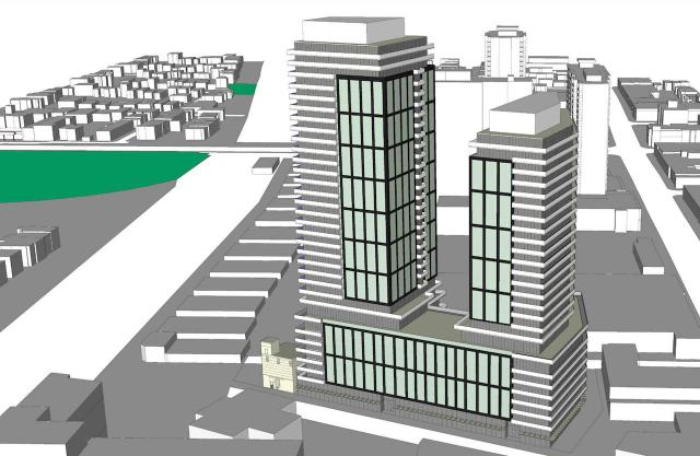 10 Dawes Road, Trolleybus Urban Development Inc., IBI Group, Toronto