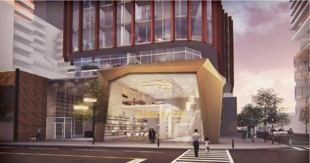 33 Sherbourne, Toronto, designed by Giannone Petricone Associates for Menkes Developments