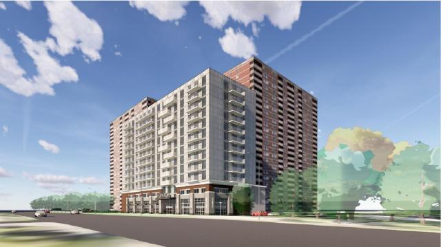2667 Kipling, Toronto, designed by Turner Fleischer Architects for Humber Properties