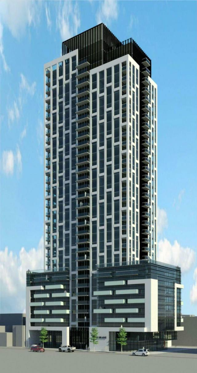 65 Raglan Ave., Toronto, designed by IBI Group for Camrost-Felcorp