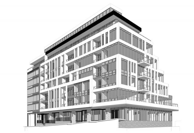 2810 Bayview, Toronto, designed by Kirkor Architects for Dormer Homes