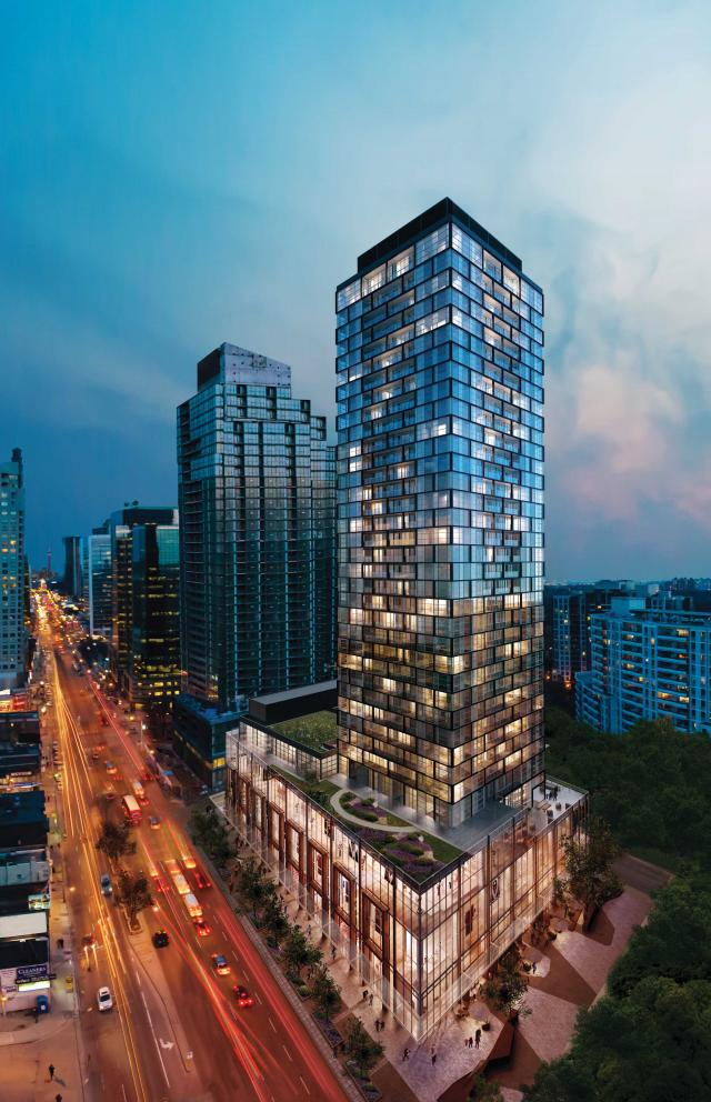 Beacon Condos by the Sorbara Group with design by Wallman Architects, image by Cicada Design