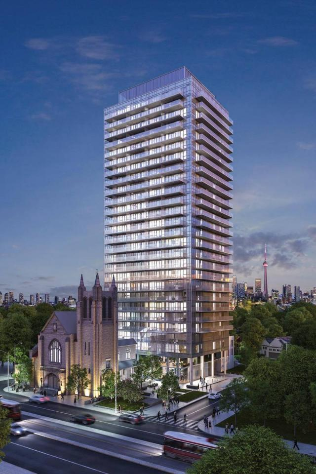 Blue Diamond Condos by Camrost-Felcorp and Diamondcorp with design by Diamond Schmitt Architects